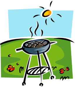 picture freeuse Bbq clipart bbq lunch. Wednesday hunters meet hotel.