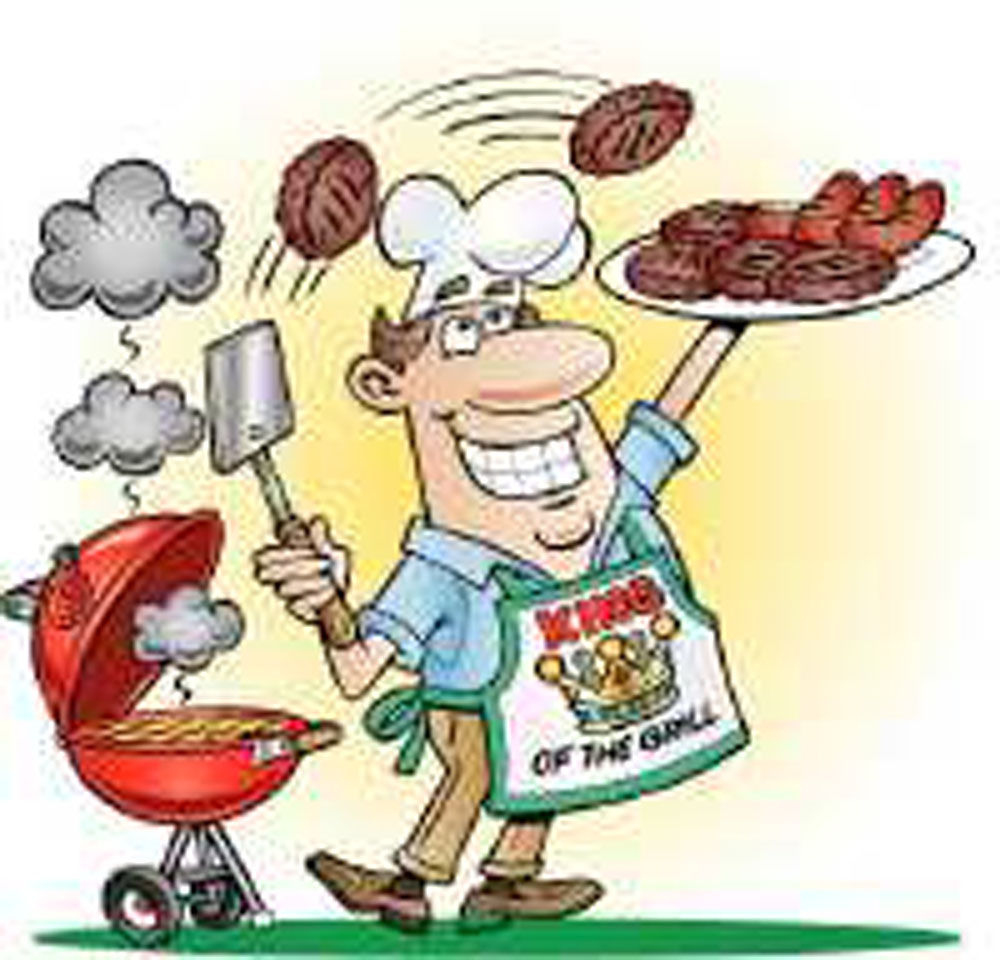 graphic freeuse Transparent . Barbecue clipart bbq lunch.