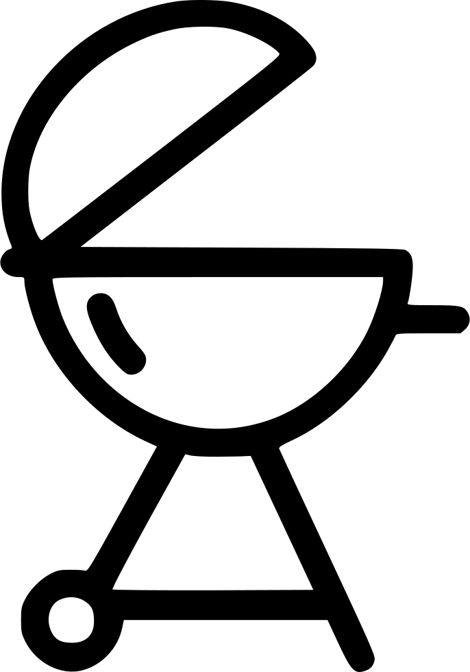 graphic black and white download Grill Charcoal Barbecue Bbq Svg Png Icon Free Download