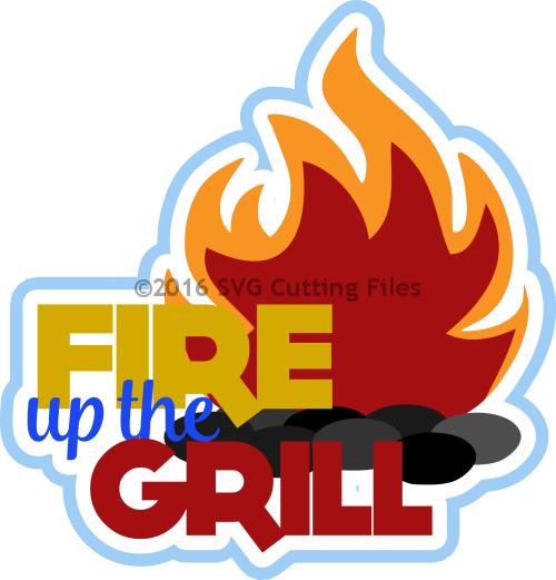 clip library download barbecue clipart grill flame #76390772