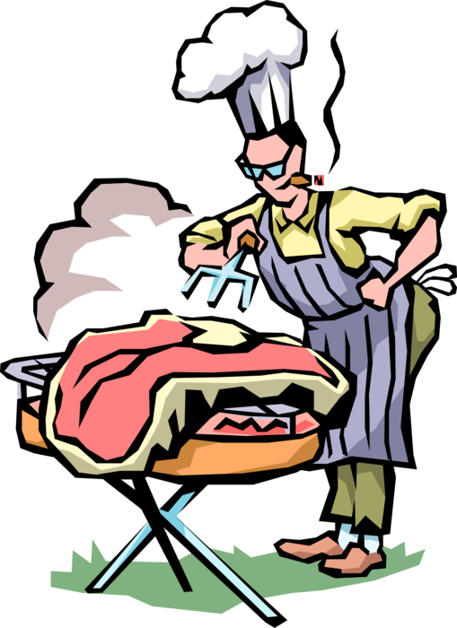 clip transparent Grill Master Cooks Texas