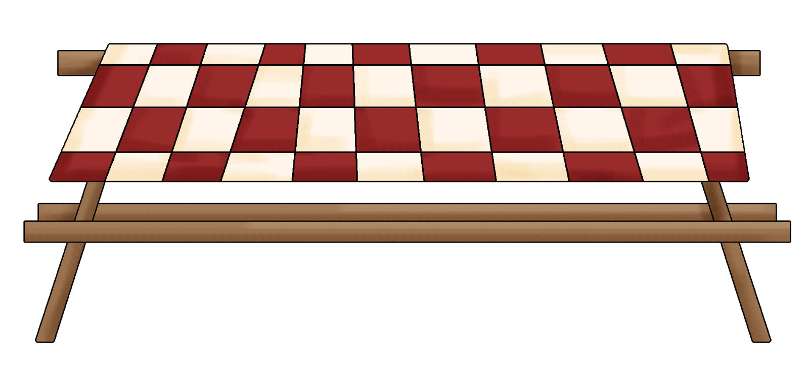 banner Table clipart family picnic