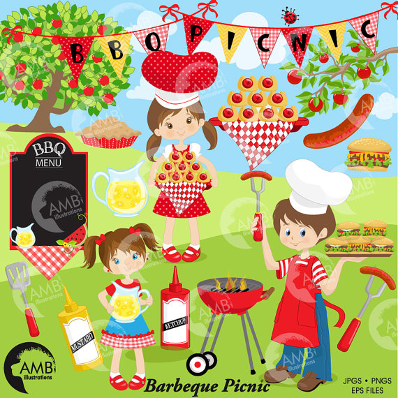 clip transparent stock Barbecue clipart school. Bbq picnic grill food
