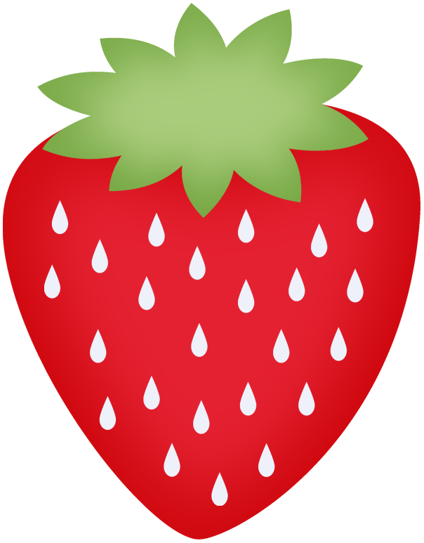 image library library Drawing strawberries wild strawberry. Minus say hello clipart