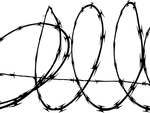 banner royalty free library Frames illustrations hd images. Barbed wire clipart cartoon