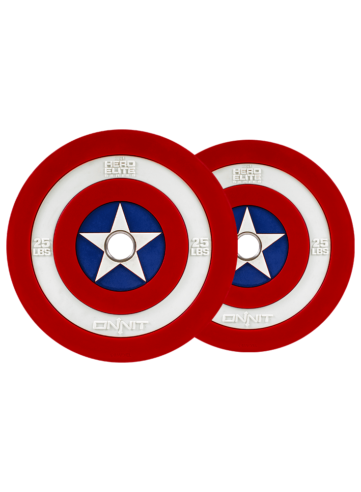 graphic stock Captain America Shield Barbell Plates