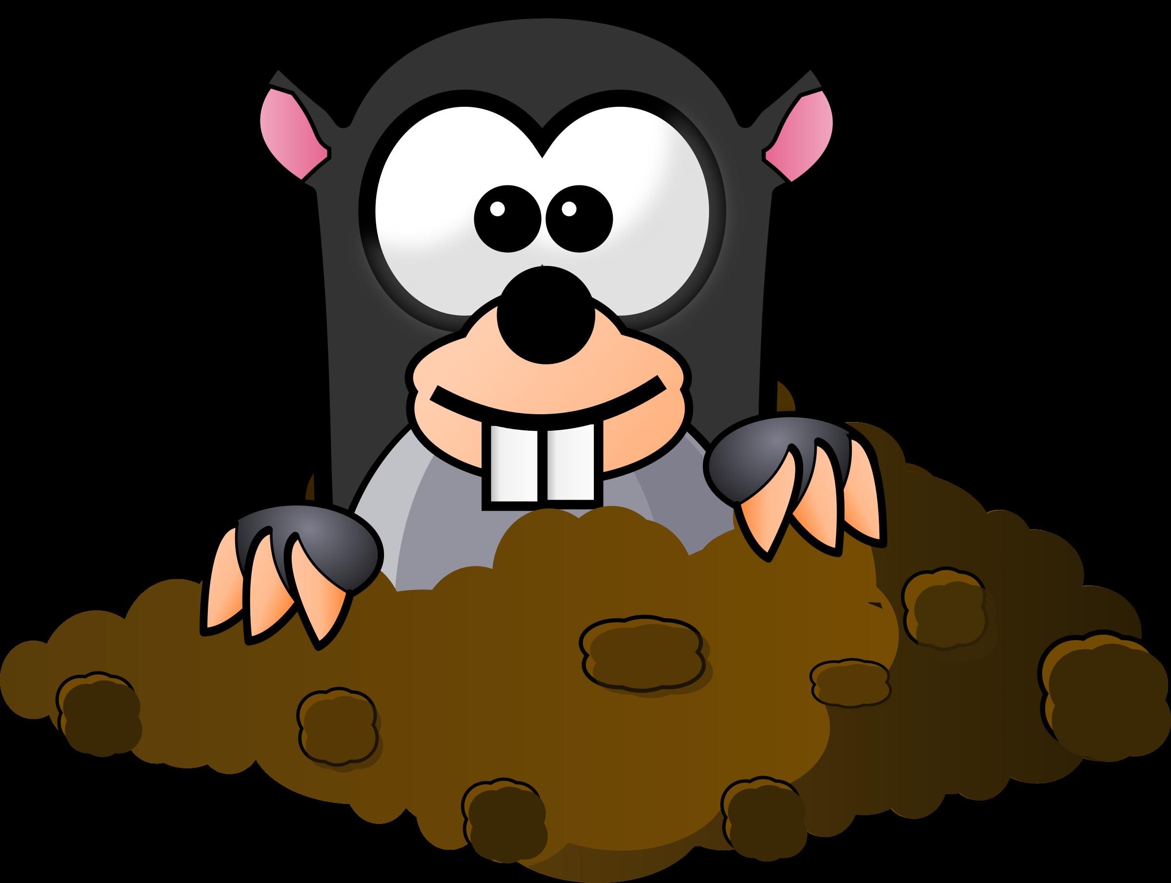 clip art library stock Mole clipart comic. Cartoon free on dumielauxepices.