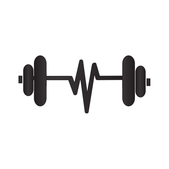 banner black and white Barbell Silhouette at GetDrawings