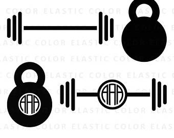 clipart royalty free stock Barbell clipart svg. Frames illustrations hd images.