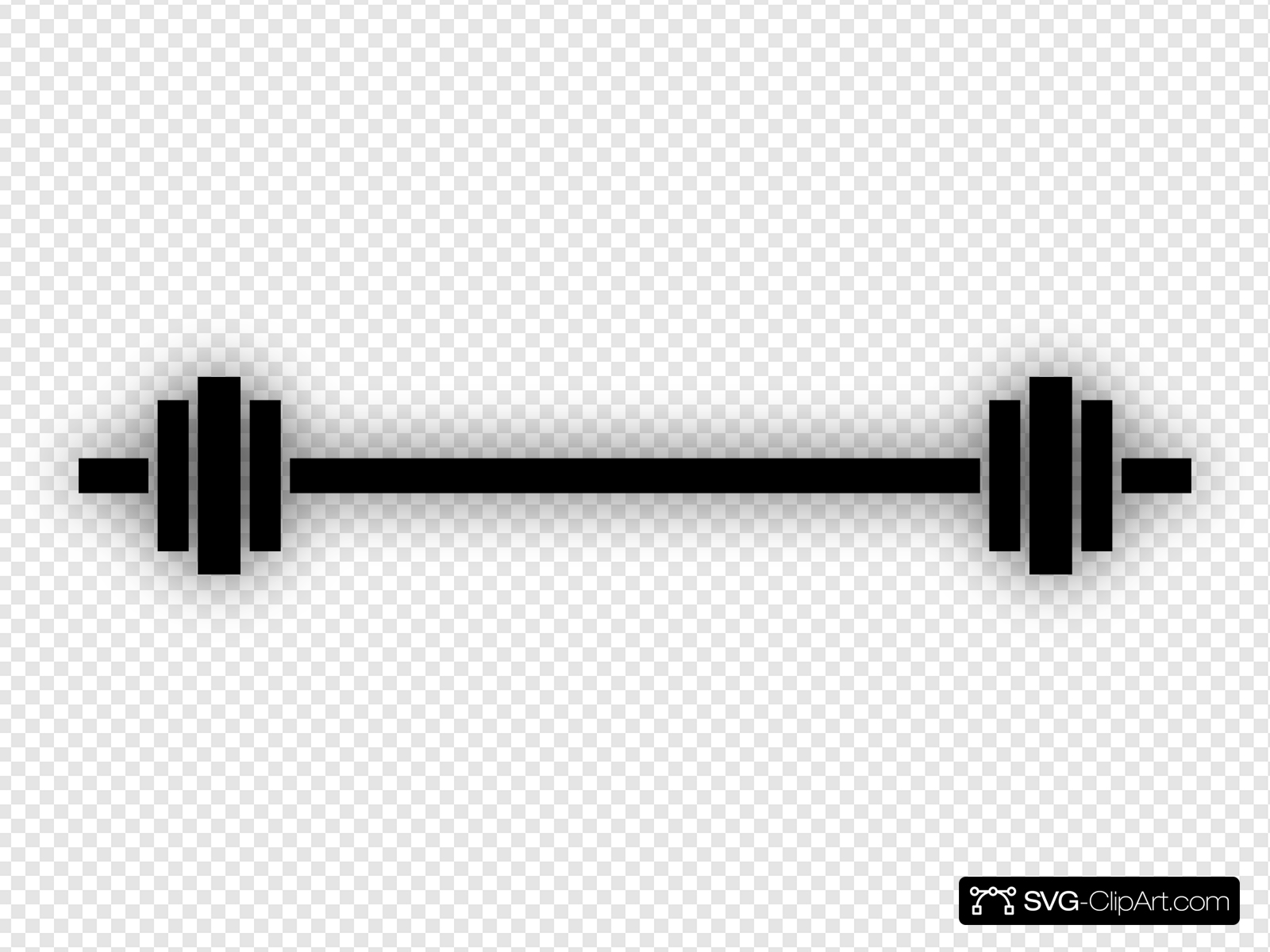 clip freeuse stock Clip art icon and. Barbell clipart svg.