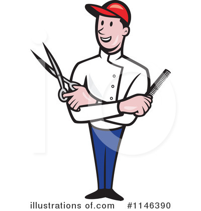 clipart freeuse stock Barber clipart. Illustration by patrimonio
