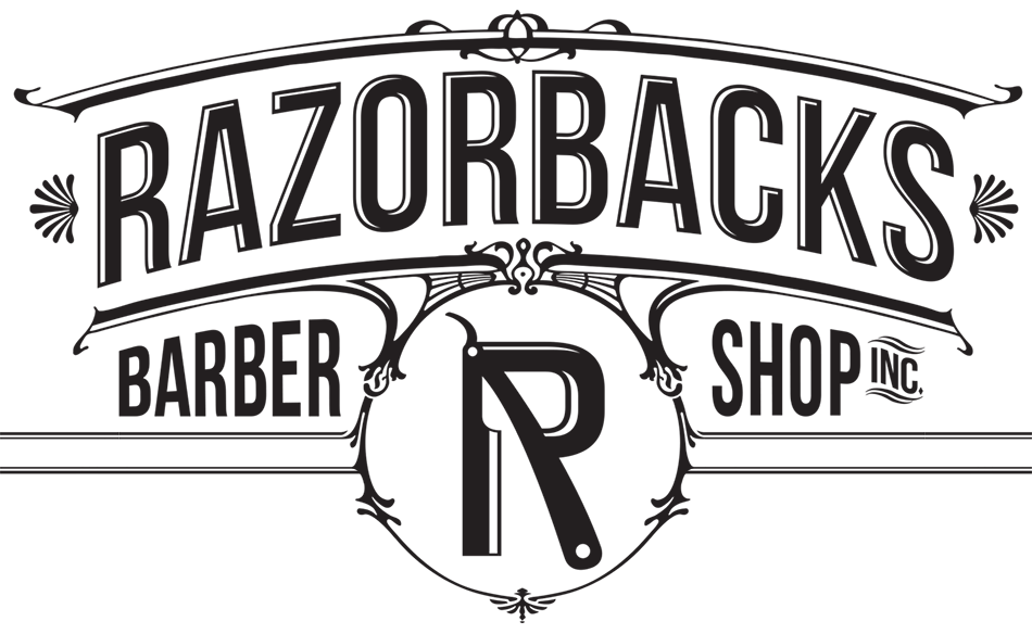 graphic library stock Razorbacks the shop . Barber clipart parlor.