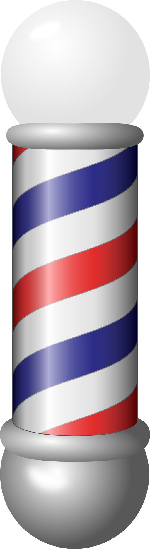 png library Barber Pole Clipart
