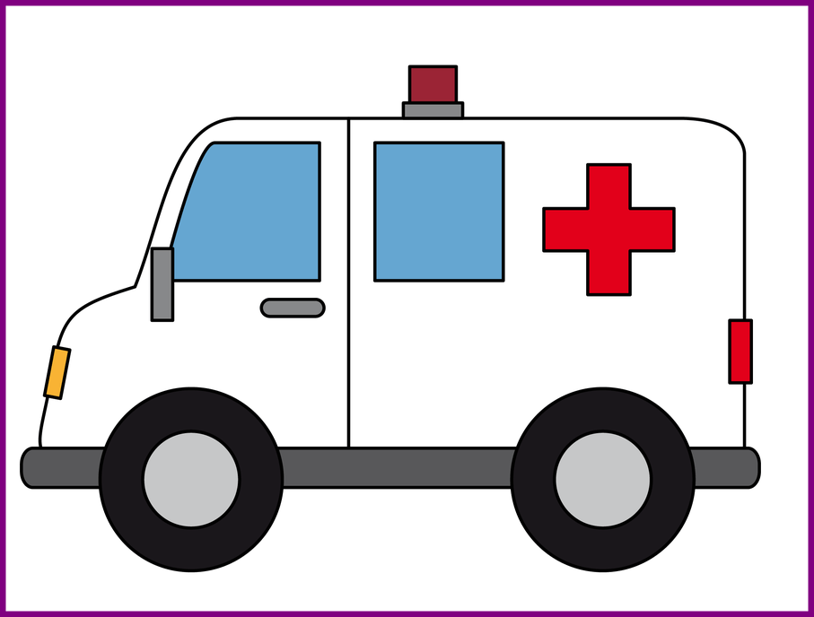 jpg black and white library Appealing To Use U Public Ambulance Clip Art Embroidery Of Bear