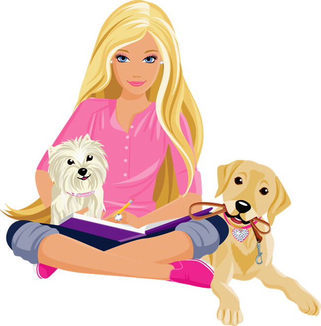 jpg royalty free barbie clipart cartoon #76441088