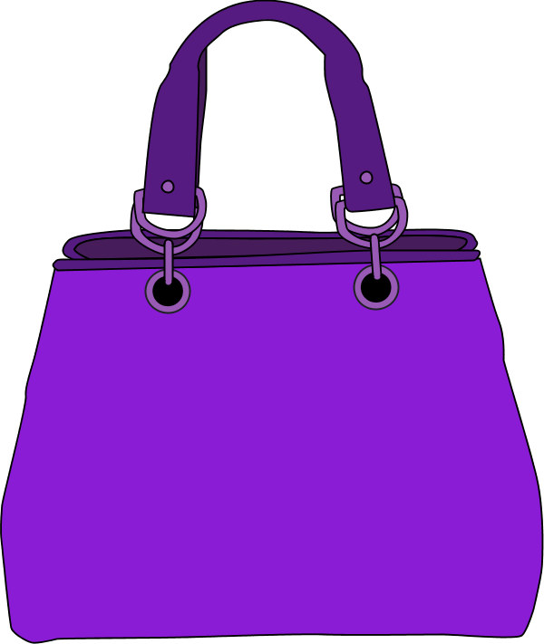 royalty free Bags clipart purple bag. Barbie handbag handbags clip.