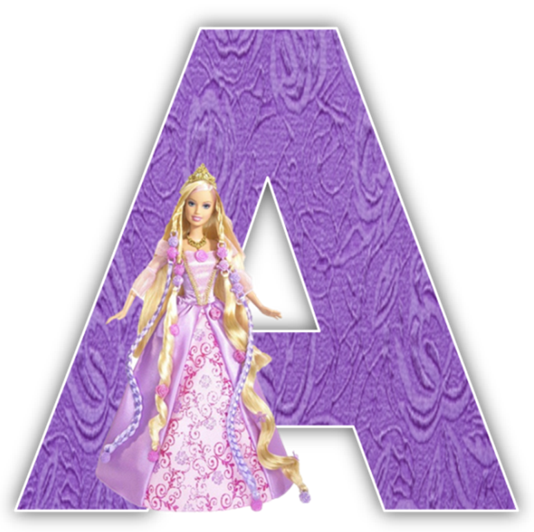 svg transparent stock Barbie Alphabet Numbers