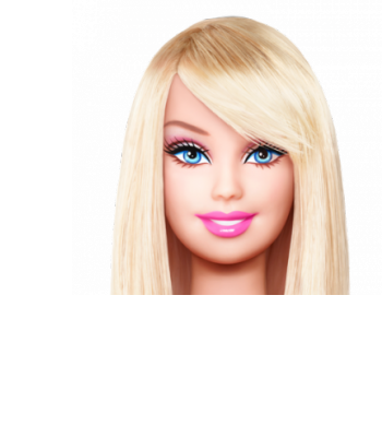vector royalty free Plain Jane Barbie