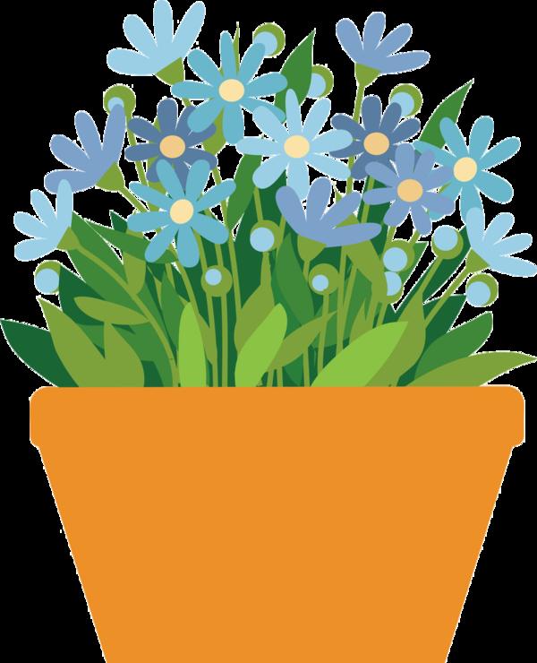 graphic transparent stock Flower garden clipart
