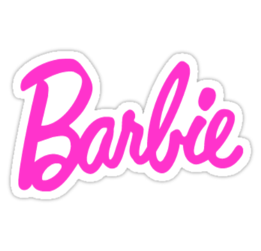 clip transparent download Barbie stickers