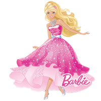 clipart black and white library Download free png photo. Barbie clipart ipad.