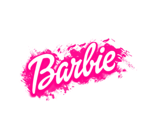 clip stock Transparent free for . Barbie clipart name.
