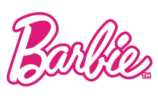 jpg transparent library Barbie clipart name. Stencil theme party birthday.