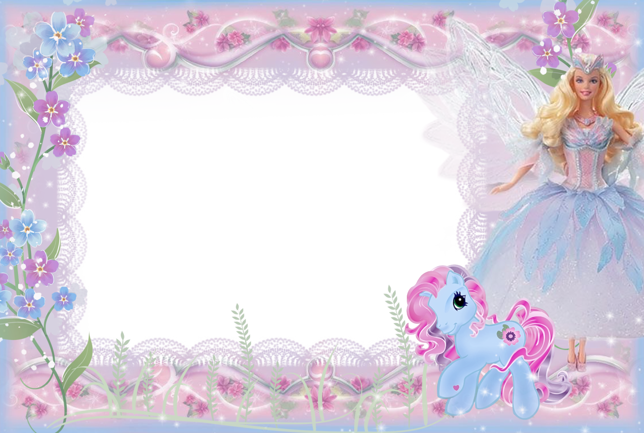 clip free library Barbie clipart name. Girls kids transparent frame.