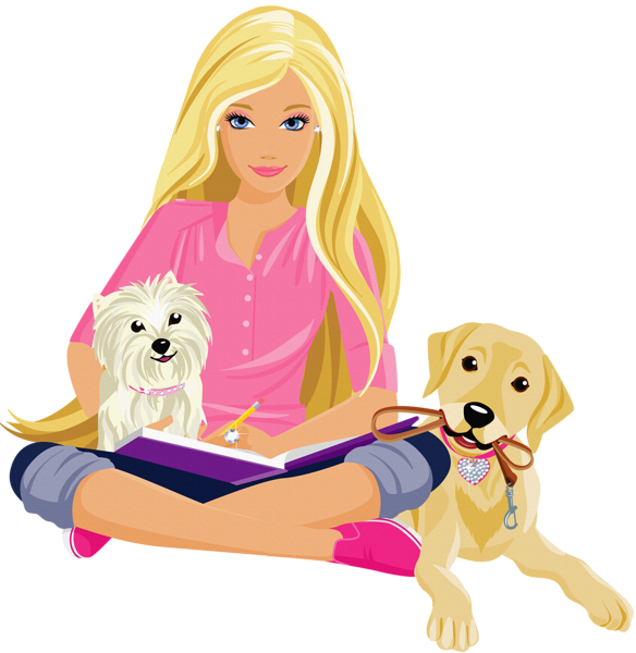 jpg transparent Transparent Barbie Clipart