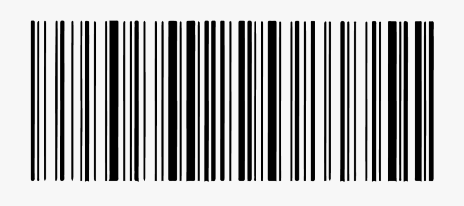 clip black and white download Barcode clipart. Number transparent clip art