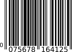 royalty free Barcode no background clipart. Vector barcodes