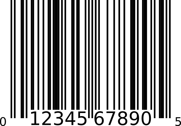 graphic freeuse barcode clipart barcode label #22925750