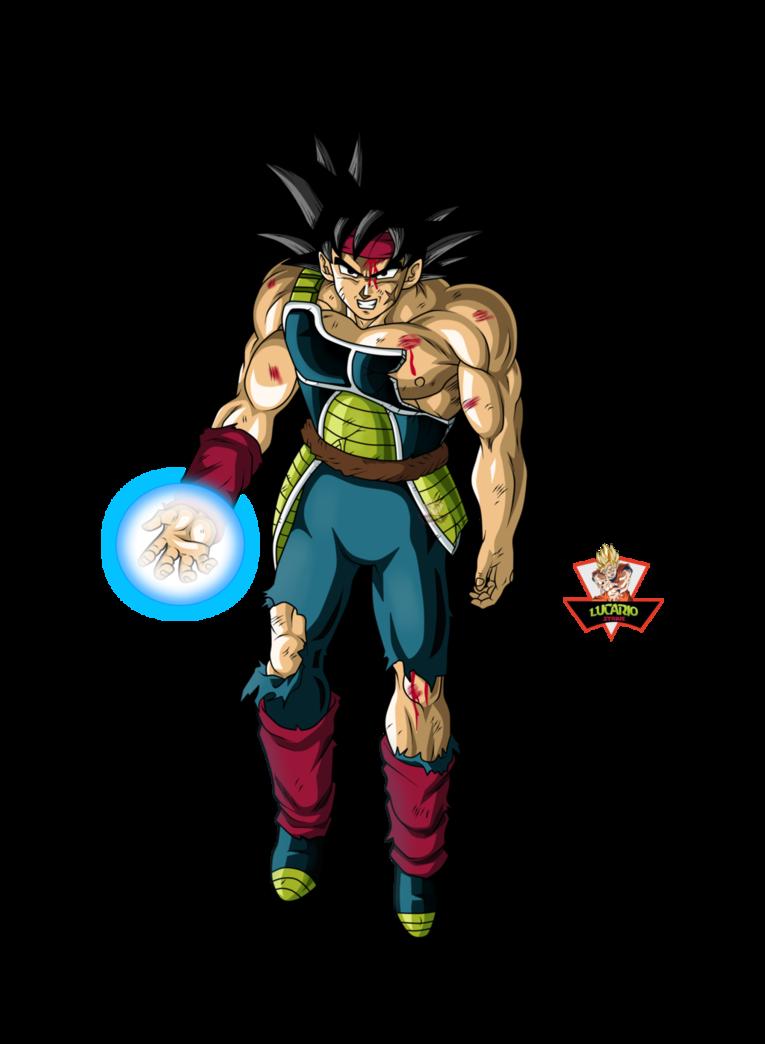vector transparent Bardock El Padre de Goku by lucario
