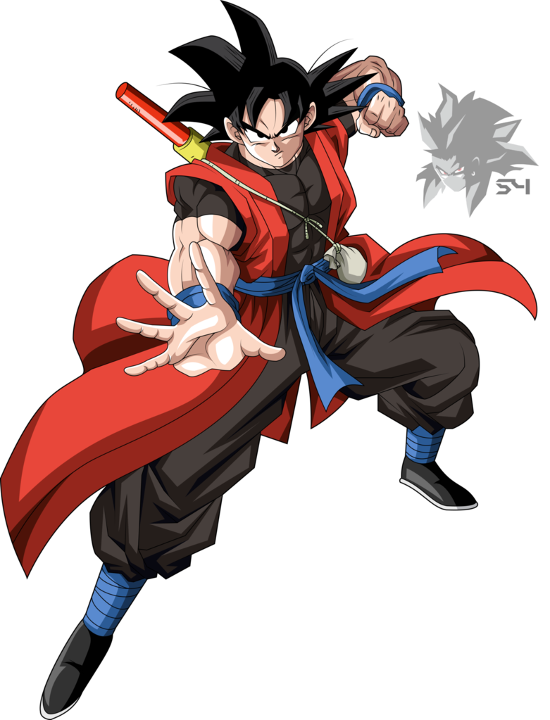 svg library download Time Patrol Goku by MAD
