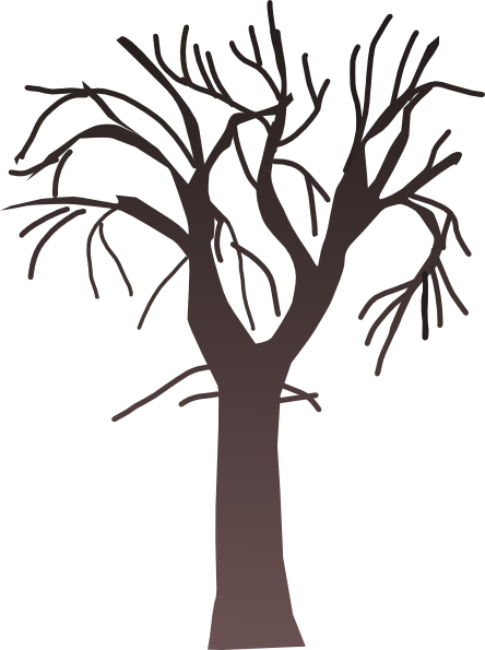 svg Tree clip art at. Bare clipart