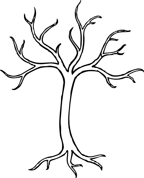 svg library stock Bare clipart. Tree panda free images