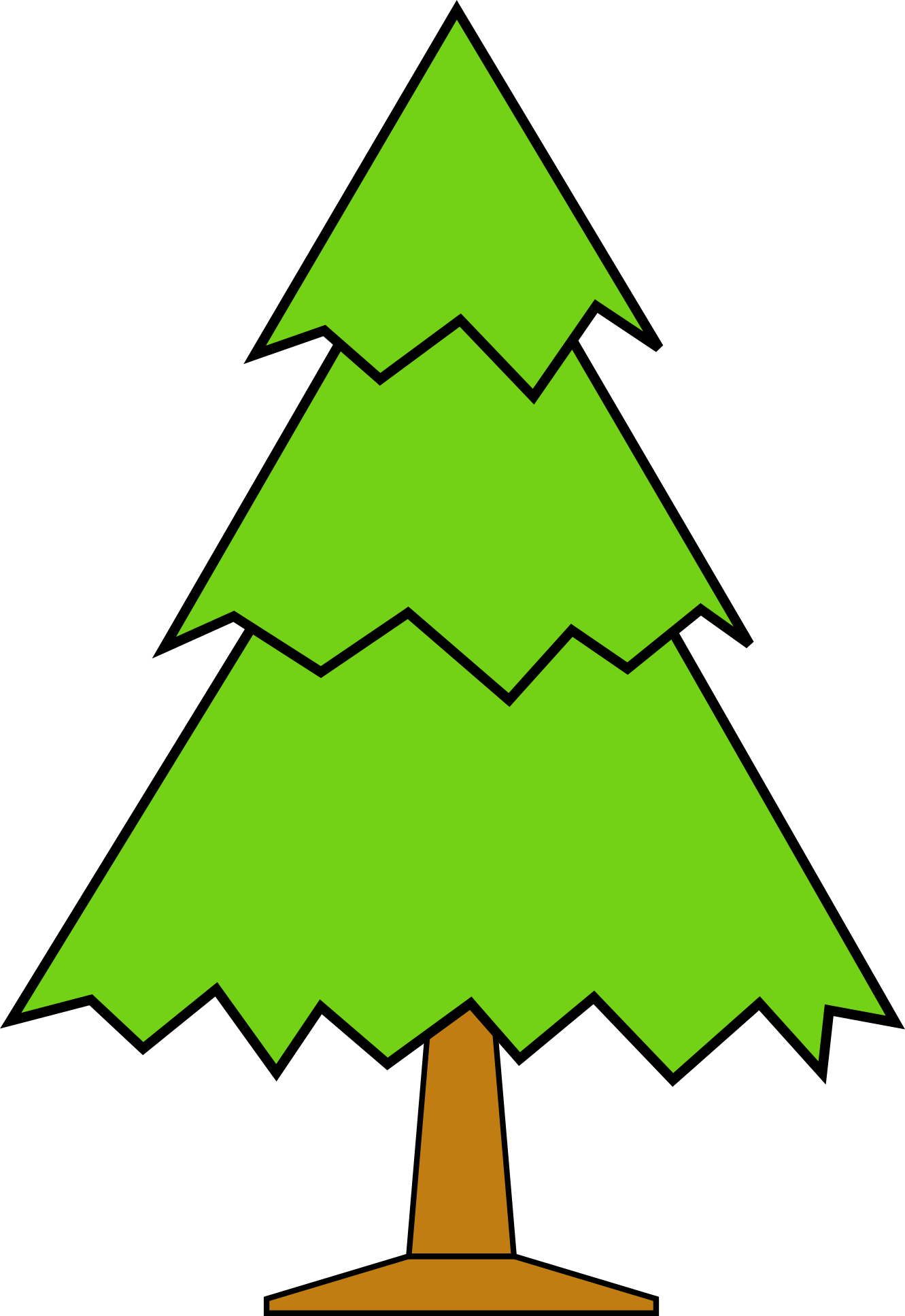 jpg library library Clip art xmas panda. Bare clipart christmas tree