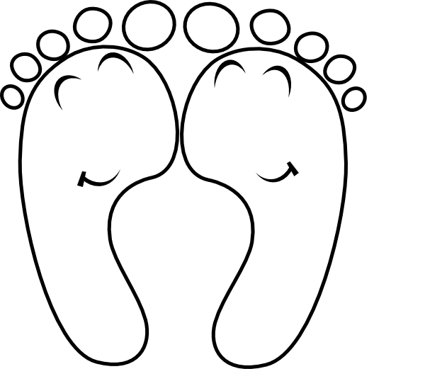 image transparent stock Foot Outline Drawing at GetDrawings