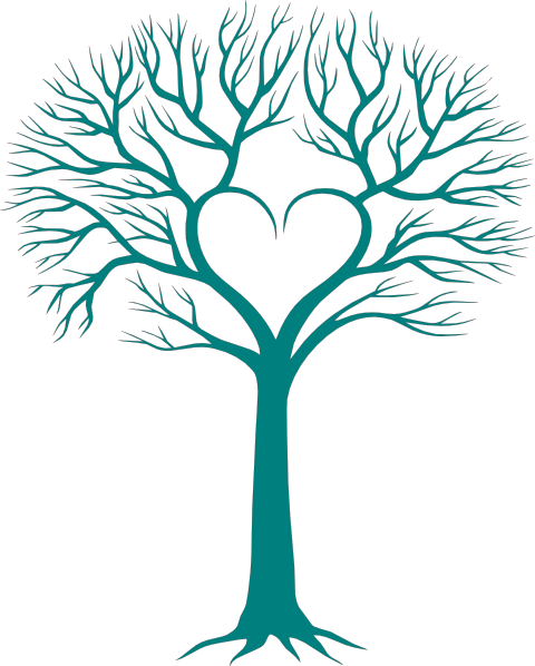 clip freeuse library Branch clipart family tree. With heart clip art
