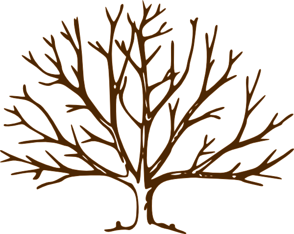 png royalty free download Bare clipart. Tree clip art vector