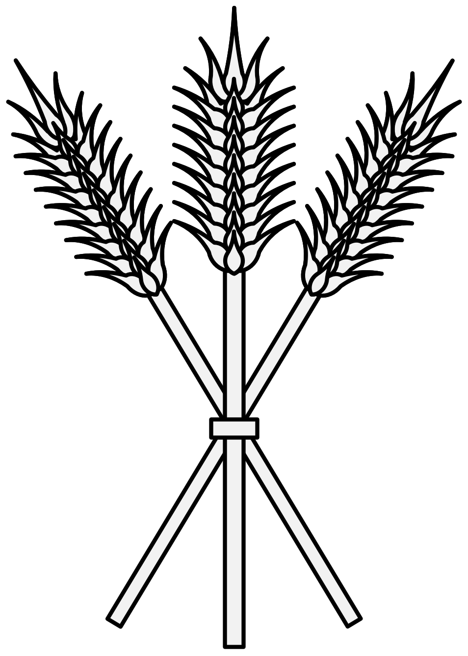 clip free download Wheat Line Drawing at GetDrawings