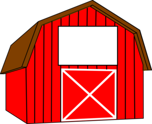 banner freeuse library Barn clipart. Clip art red .