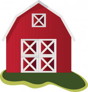 free Free cool red clip. Barn clipart.