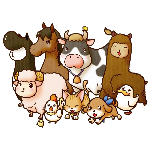 transparent download Farm animal clipart. Animals free clip art