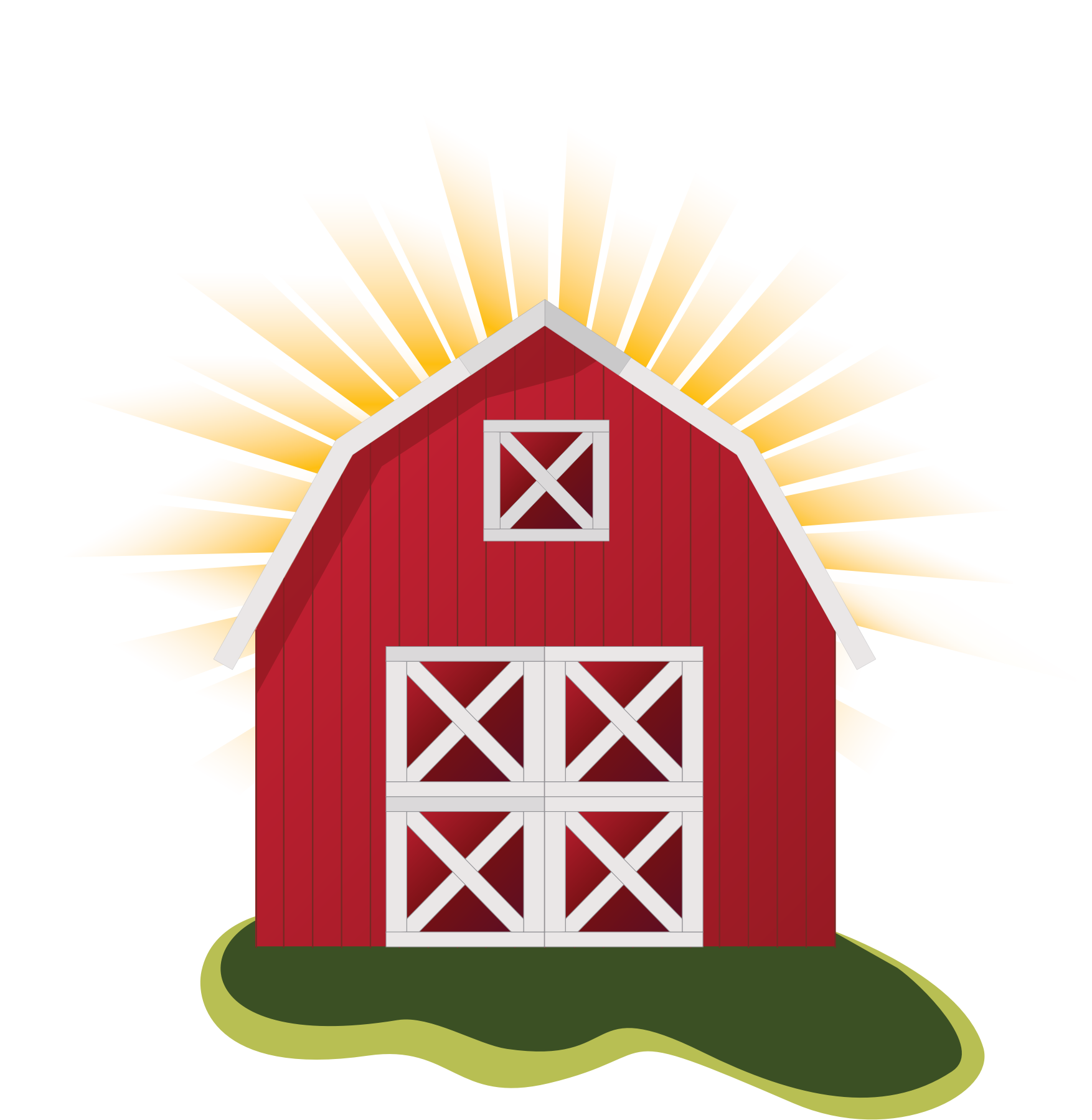 picture free Red big image png. Barn clipart dairy barn.