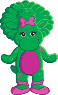 vector free download Barney And Friends Drawing at GetDrawings