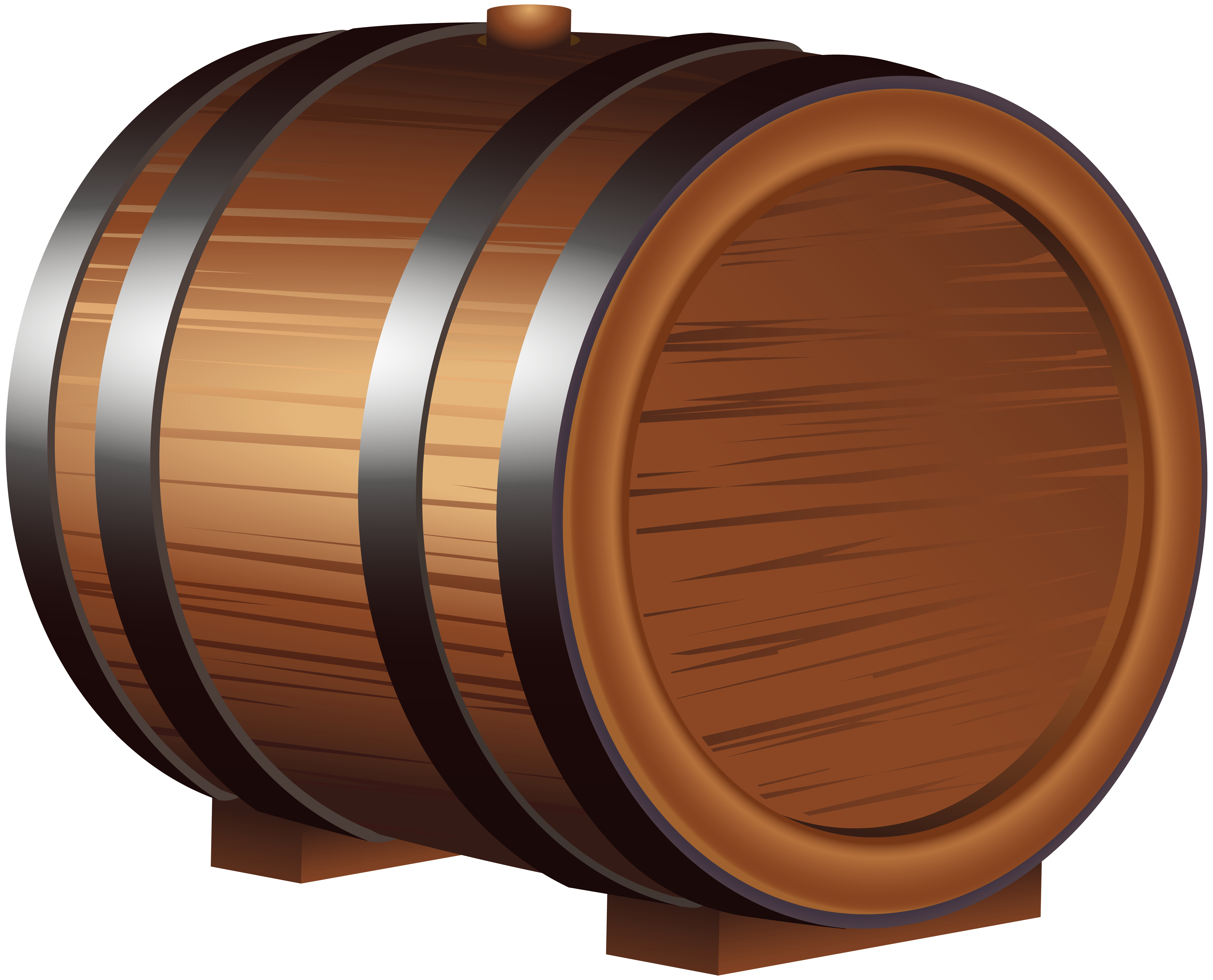image freeuse stock Barrel clipart. Wooden png clip art