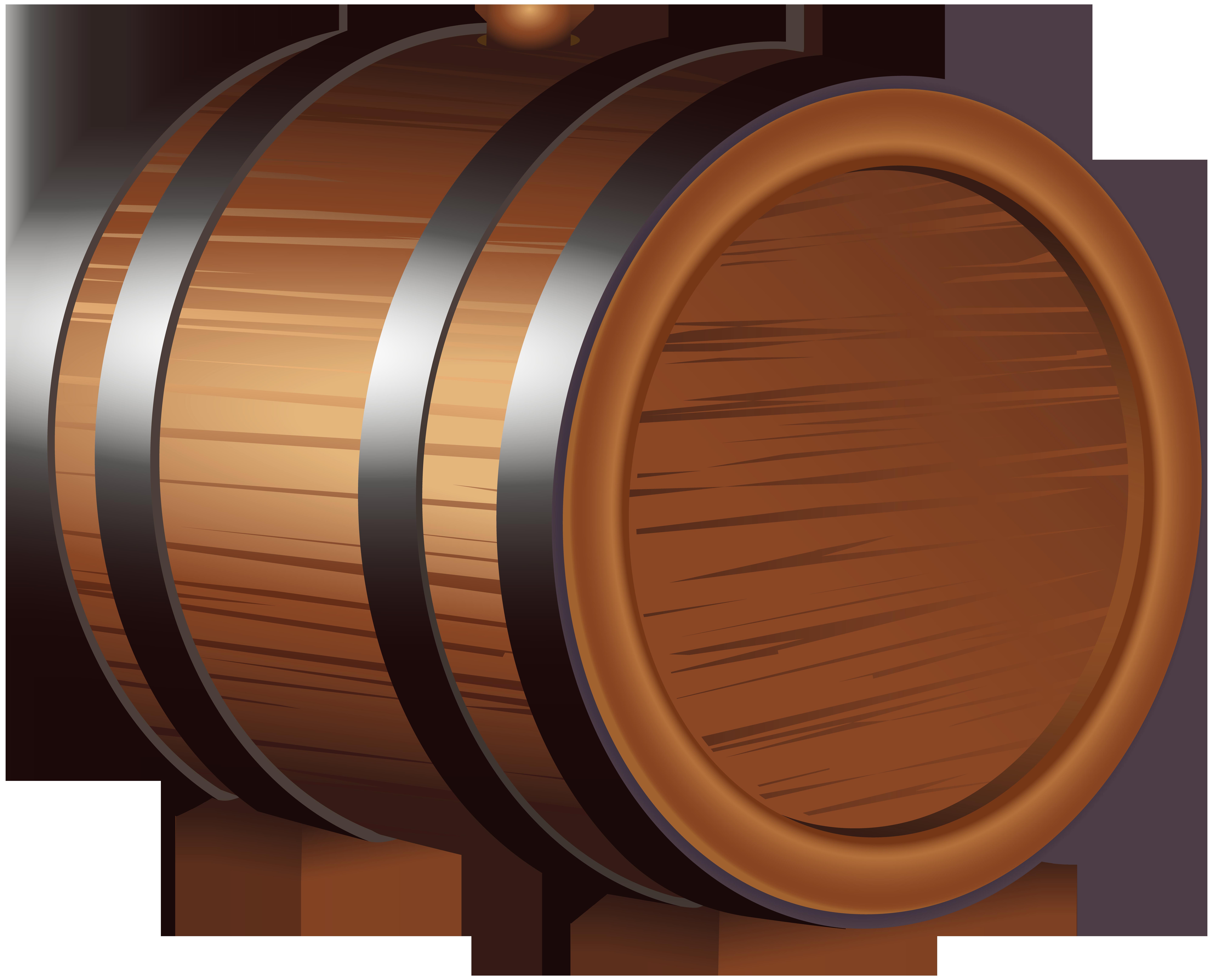 image freeuse stock Barrel clipart. Wooden png clip art.