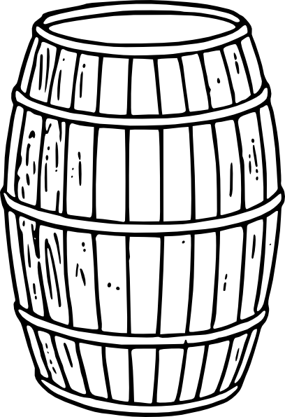 royalty free library Barrel clipart. Clip art at clker