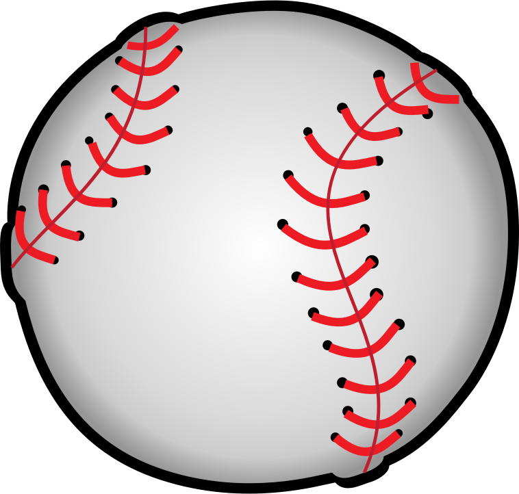 graphic black and white Baseball clip printable. Free clipart at getdrawings